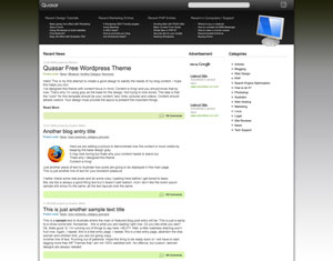 Quasar WP Theme