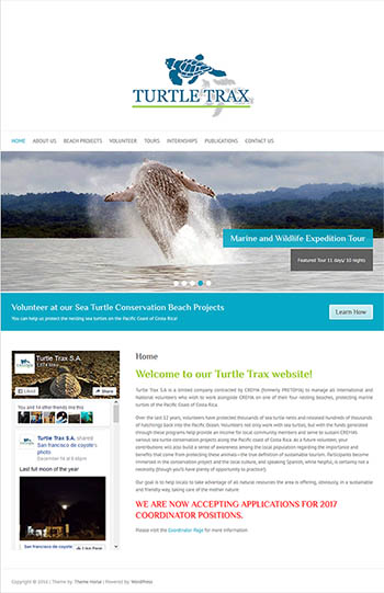 Turtle Trax Website